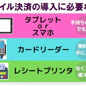 【モバイル決済導入】安いおすすめは?導入費用・手数料比較