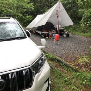 今週末のキャンプ 天気が・・・ #130
