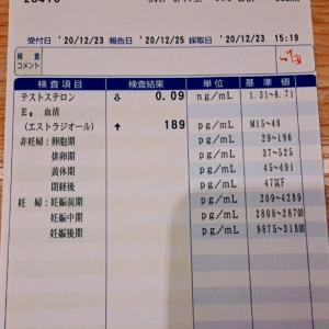 ホルモン注射48回目 ~血液検査結果