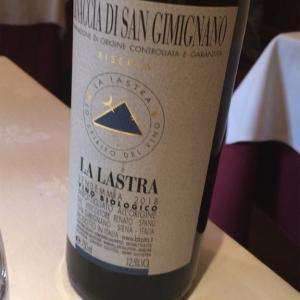 【イタリア/白】すっきり爽やか❣️『La Lastra Vernaccia di San Gimignano ラ・ラストラ ヴェルナッチャ・ディ・サン・ジミニャーノ』