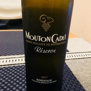 白ワイン/ムートン カデ レゼルヴ ボルドー ブラン/ボルドー