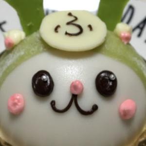 レーヴ・ド・プルミエール『ふっかちゃんケーキ』深谷市のゆるキャラ「ふっかちゃん」にいちごムースが入っていて美味しいじゃないか!