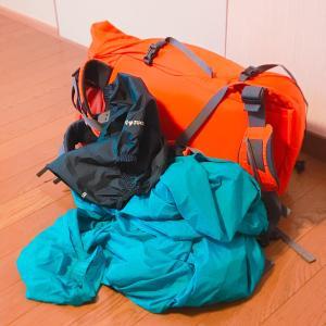 いざカミーノ!荷物はとにかく軽く!めざすは5kg以下です!