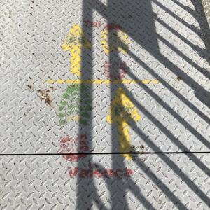 【6日目】カミーノ日記。ポルトガル最後の街、かすれたペンキでかかれた国境、スペイン最初の街、どっちの道を行く?。