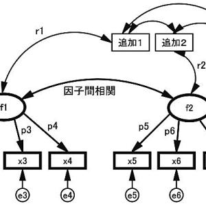 延長因子分析(extention factor analysis)という技法