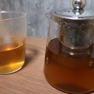 初どくだみ茶ヽ(=´▽`=)ノ