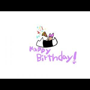 猫又おかゆHappy Birthdayお祝い動画 ころねより