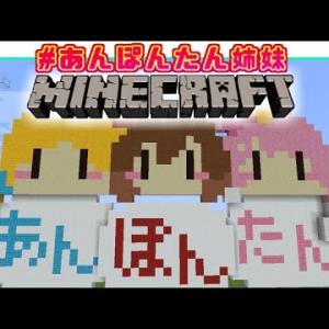 【Minecraft】ホロ鯖で #あんぽんたん姉妹 ドット絵作るのら!【姫森ルーナ/ホロライブ】