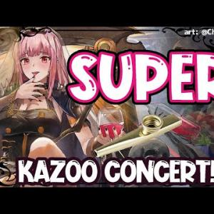 【KAZOO CONCERT】SUPER CHAT READING WIPEOUT!! #hololiveEnglish #holoMyth