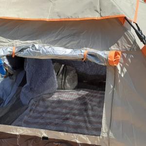 初心者でも使って便利なテント(レジャー用)