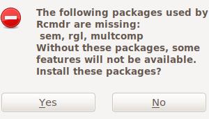 Ubuntu18.04にRcommander(Rcmdr)インストール(R3.4.4)