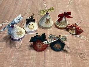 クリスマスの小物たち~作り始めたらやめられない!