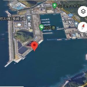 2021年1月17日 長崎釣行 小江波止