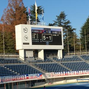 J3 第34節 FC東京U23 VS G大阪U23