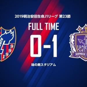 第23節 FC東京 VS 広島