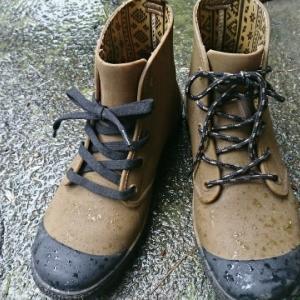 防水ブーツの履き心地アップ