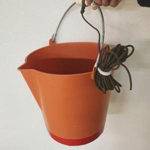 法定備品:赤バケツの買い直し