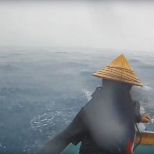 海上で7.5mmの雨が降るとどんな感じなのか