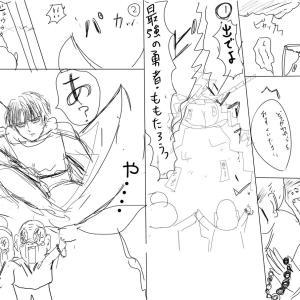 「桃太郎×異世界」漫画力UPワークショップ受けたよ!!