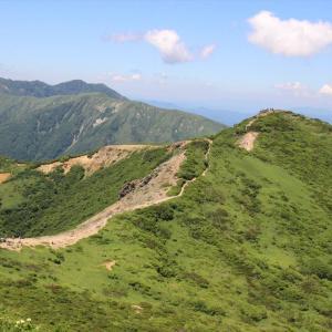 栃木百名山:梅雨明けの絶景茶臼岳、朝日岳
