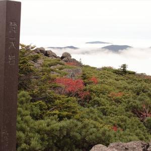 日本百名山:西吾妻山天元台から