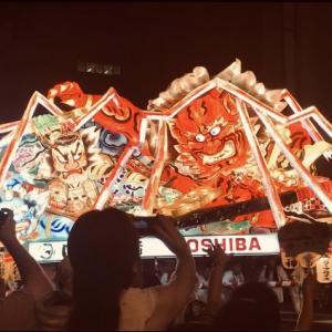 【2019年】青森県のねぶた祭りに行ってきました。