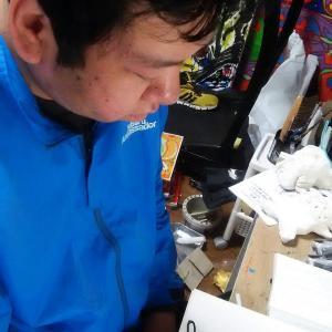 日本画練習