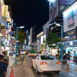 韓国 釜山でナッチポックン(タコ炒め)を食べよう!!