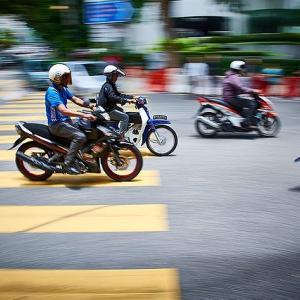 タイでバイクをレンタルして運転してみた!!