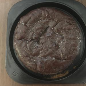 【AZFOOD】1カット当たり糖質13gのガトーショコラ!まるでチョコレートの塊のような食べ応え!