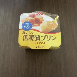 森永おいしい低糖質プリンの新味!キャラメル味!