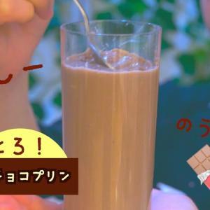 【ダイエットレシピ】ヘルシー超濃厚生チョコプリンの作り方!【料理】