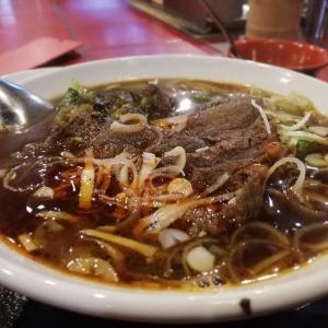 歌舞伎町の老舗台湾料理店の牛肉麺は旨かった!『台南担仔麺(タイナンターミー)』@新宿店