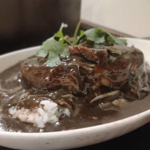【肉厚角煮に驚愕!】名物!上海角煮カレーを堪能!『グリルアンドバー ハナヤ』@新宿歌舞伎町