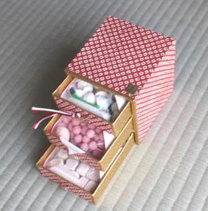 201911~12お土産お菓子 タンスごと