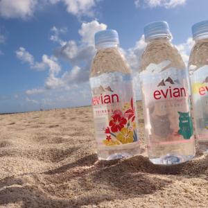 【数量限定】evian(エビアン)沖縄限定ボトルをゲット!!