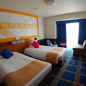 【チケット付きプラン】ホテル京阪ユニバーサルシティのコンフォートツイン・ザ・ムービーに宿泊!