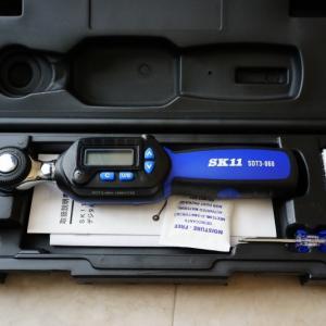 トルクレンチとは?デジタルトルクレンチ SK11 SDT3-060 購入レビュー