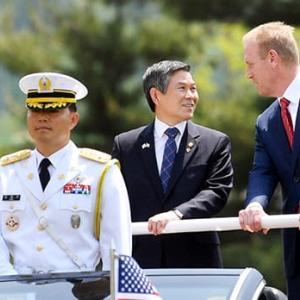 米韓同盟消滅
