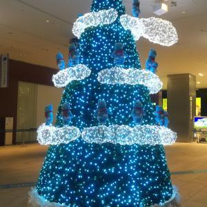 あべのハルカスのクリスマスツリー
