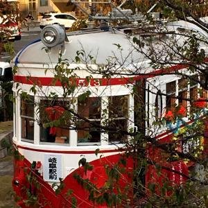 岐阜駅に丸窓電車がやって来た日