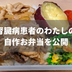 【低たんぱく】腎臓病患者の私の自作お弁当を晒します【おいしく食べるコツ】