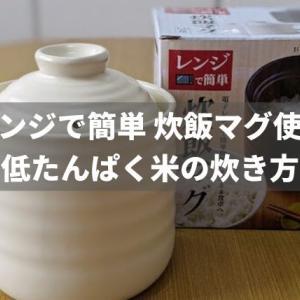 炊飯マグで低たんぱく米はおいしく炊ける?【管理栄養士からオススメされた炊き方】