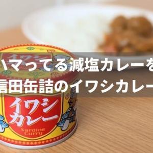 最近ハマってる「減塩イワシカレー缶詰」を紹介!