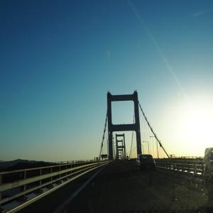 しまなみ海道を渡る 四国一周EV旅#2