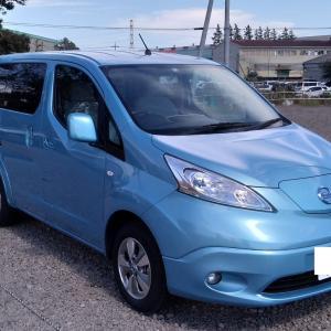 電気自動車e-NV200で車中泊の旅