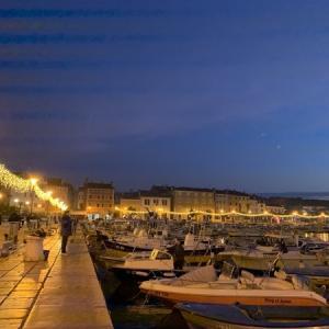 【ロヴィニ】4日目-2 アドリア海沿いのクロアチアの小さな町へ