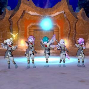防衛軍、エル子8名で周回してきましたー