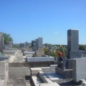 お盆の墓参りで八事霊園へ