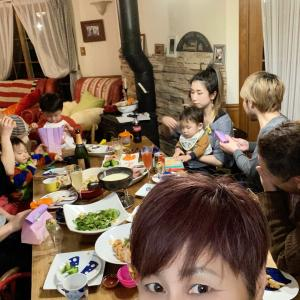 ☆ザキヤマ家パーティー!!2月のお祝いの会☆
